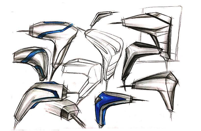 产品设计手绘上色技巧,让你的手绘更具美感
