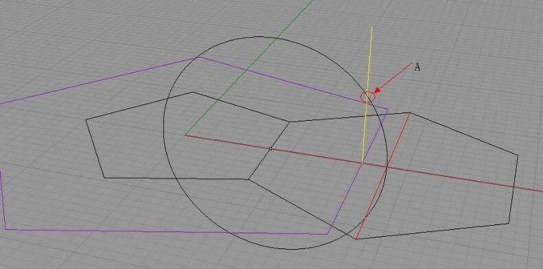移动大五边形至点a,并按图示旋转六边形至点a