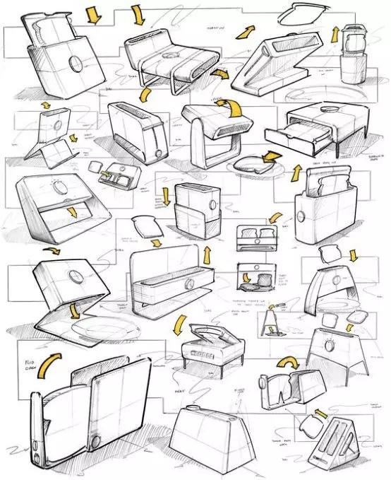 工業設計臨摹技巧揭曉,產品手繪圖千萬別盲目臨摹