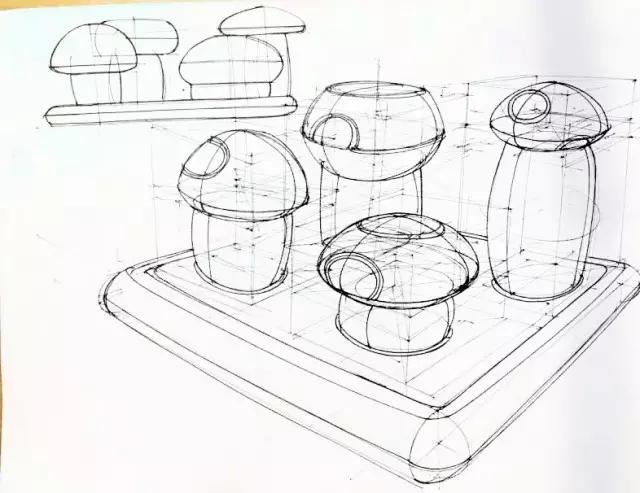 工业设计手绘线稿练习宝典,教你如何练习手绘线稿